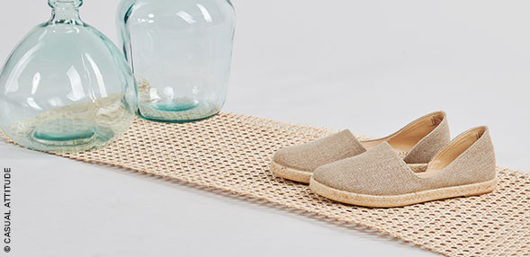 Espadrilles to choose from